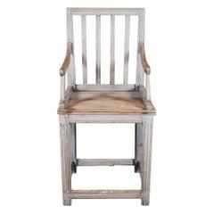 Extraordinary Large Metamorphic Vernacular Swedish Armchair Table or Bordstol