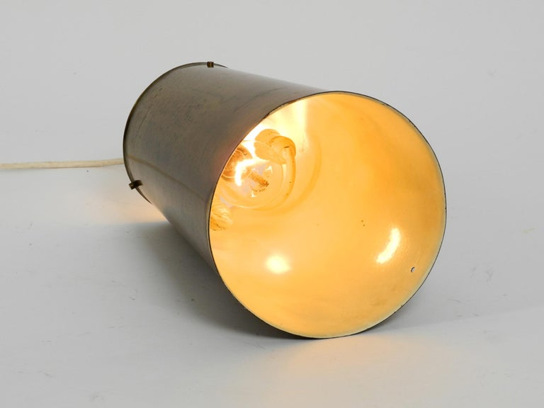Extraordinary Large Mid-Century Modern Copper Pendant Lamp with 4 Socket For Sale 2