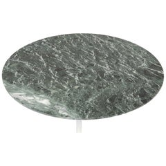 Extraordinary Round Green Marble Coffee Table