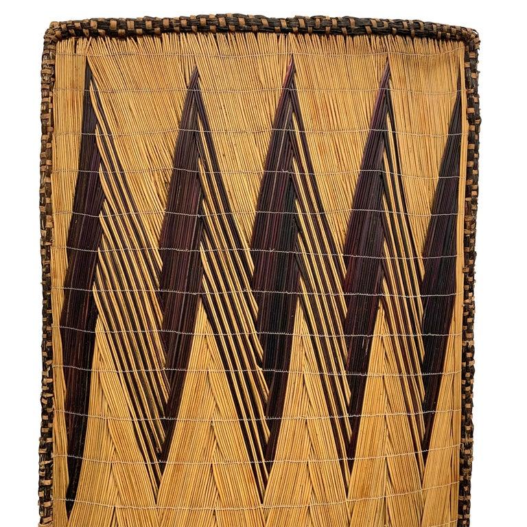 Tribal Extraordinary Tutsi Screen on Custom Mount For Sale