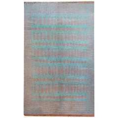 Extraordinary Vintage Saveh Kilim Rug