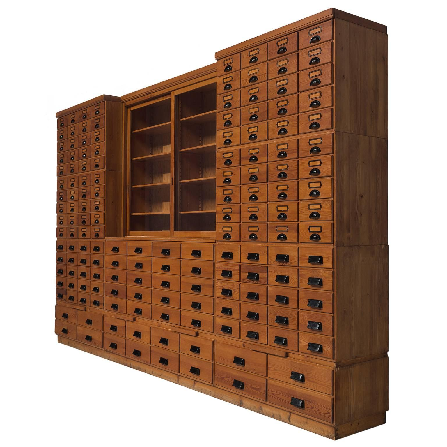 Mid Century Modern Apothecary Cabinets