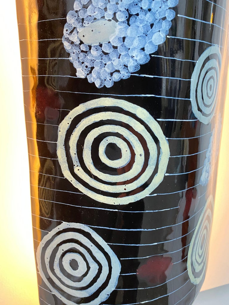 Extreme Rare Pair of Otello Rosa San Polo Venezia Ceramic Appliques Italy 1950's For Sale 5