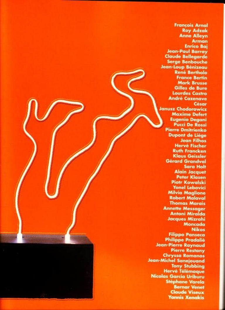 Extremely Rare, Philippe Pradalie 'Berceau Fleur', for 'Atelier A, 'Paris ,1970 For Sale 2