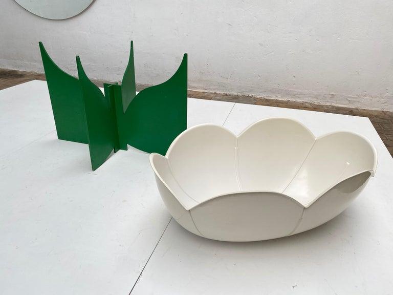 Extremely Rare, Philippe Pradalie 'Berceau Fleur', for 'Atelier A, 'Paris ,1970 For Sale 6
