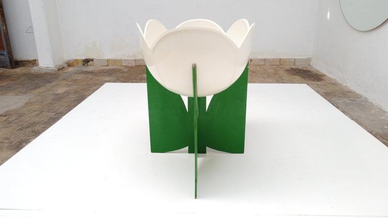 Extremely Rare, Philippe Pradalie 'Berceau Fleur', for 'Atelier A, 'Paris ,1970 For Sale 11