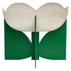 Extremely Rare, Philippe Pradalie 'Berceau Fleur', for 'Atelier A, 'Paris ,1970