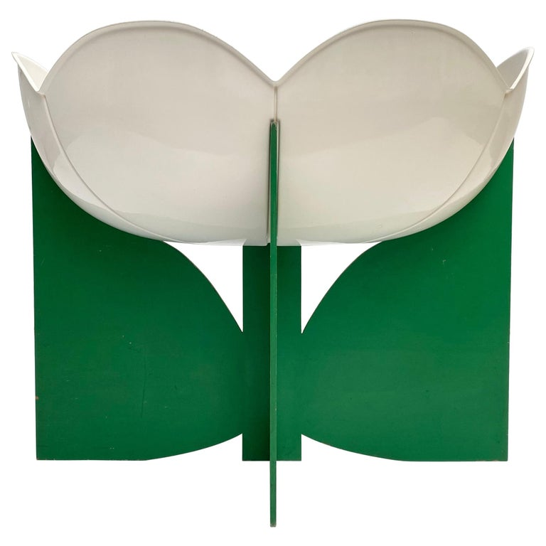 Extremely Rare, Philippe Pradalie 'Berceau Fleur', for 'Atelier A, 'Paris ,1970 For Sale