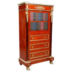 Extremely Decorative Secretary Empire Style with Dummies Books