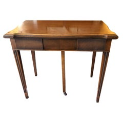 Extremely Elegant and Versatile Extendable Side or Dining Table