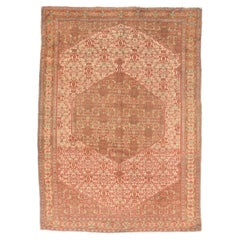 Extremely Fine Antique Senneh Persian Rug, Hand Knotted, circa 1890