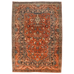 Extremely Fine Antique Tabriz Haji Jalili Persian Rug, Hand Knotted, circa 1890