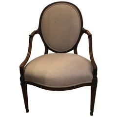 Extremely Fine Gillows Mahogany Chair, circa 1800