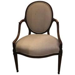 Extremely Fine Gillows Mahogany Chair, circa 1800