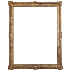 Extremely Large Gilt and Gesso Frame, circa 1900