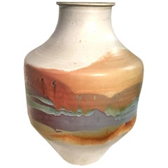 Extremely Large Multi-Color Vase