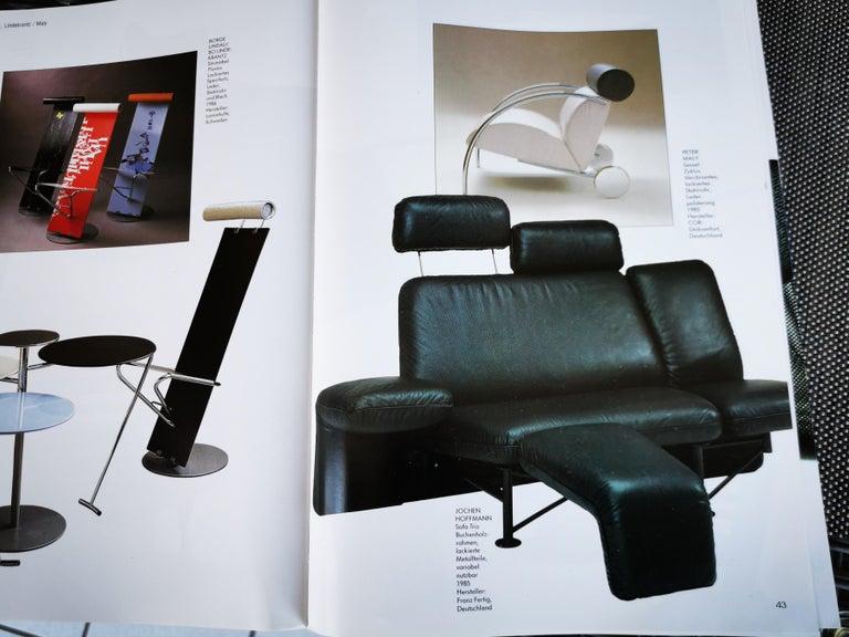 German Extremely Rare Adjustable Sofa