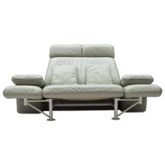 "Extremely Rare Adjustable Sofa ""Trio"" by Jochen Hoffmann for Franz Fertig, 1985"