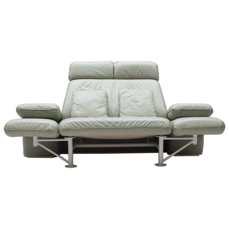"Extremely Rare Adjustable Sofa ""Trio"" by Jochen Hoffmann for Franz Fertig, 1985 For Sale"