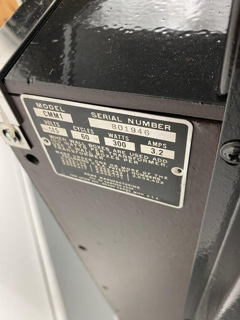 Extremely Rare AMI / Rowe CMM1 Cadette Jukebox, Modernist, Jetsons Design For Sale 7