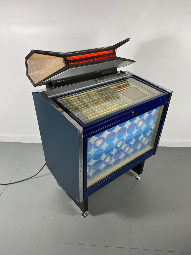 Mid-Century Modern Extremely Rare AMI / Rowe CMM1 Cadette Jukebox, Modernist, Jetsons Design For Sale