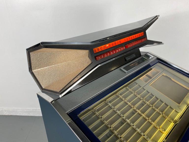 Extremely Rare AMI / Rowe CMM1 Cadette Jukebox, Modernist, Jetsons Design For Sale 2