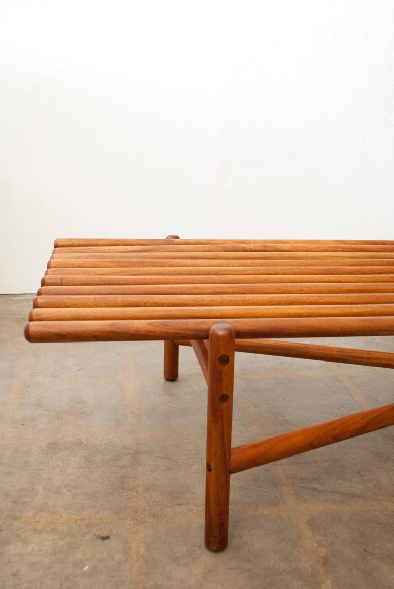 Extremely Rare Bertrand Goldberg Bench, 1952 For Sale 6