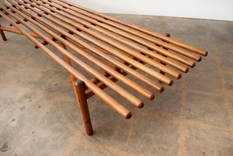 Extremely Rare Bertrand Goldberg Bench, 1952 For Sale 7