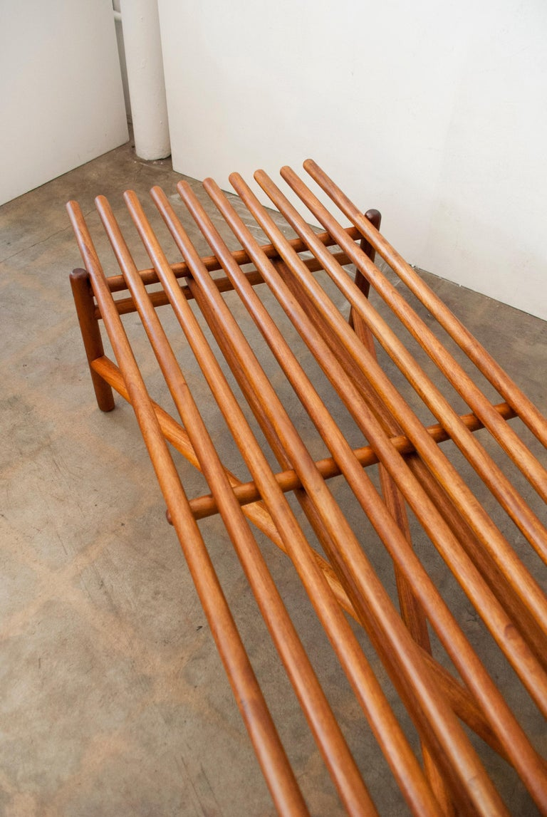 Extremely Rare Bertrand Goldberg Bench, 1952 For Sale 8