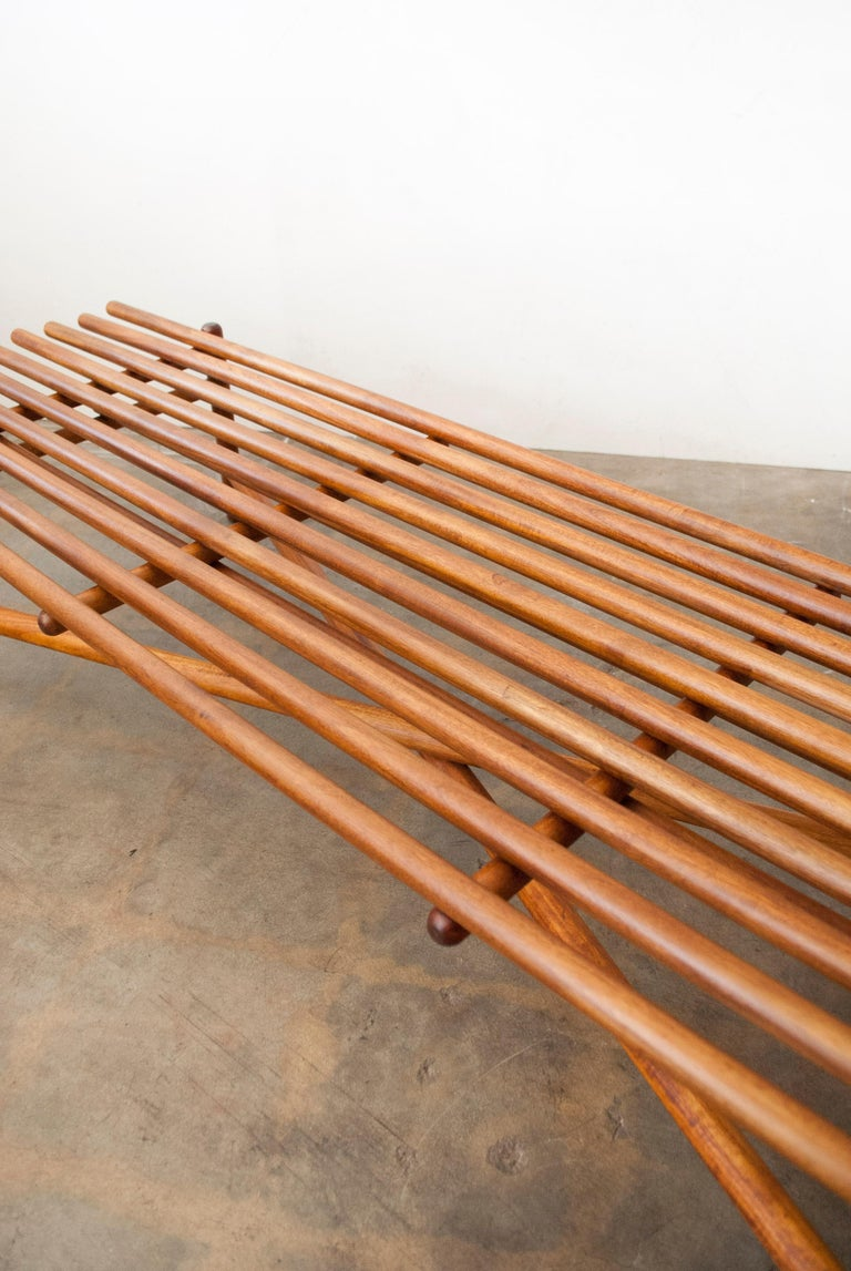 Extremely Rare Bertrand Goldberg Bench, 1952 For Sale 11