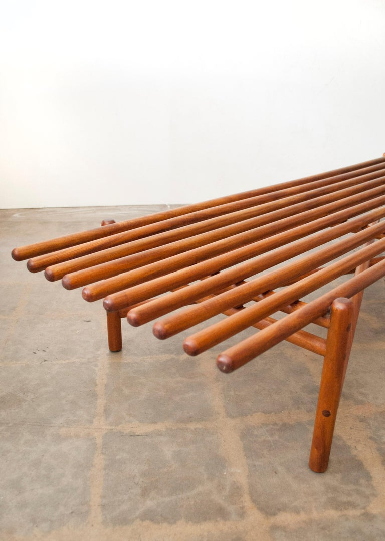Extremely Rare Bertrand Goldberg Bench, 1952 In Excellent Condition For Sale In Denver, CO