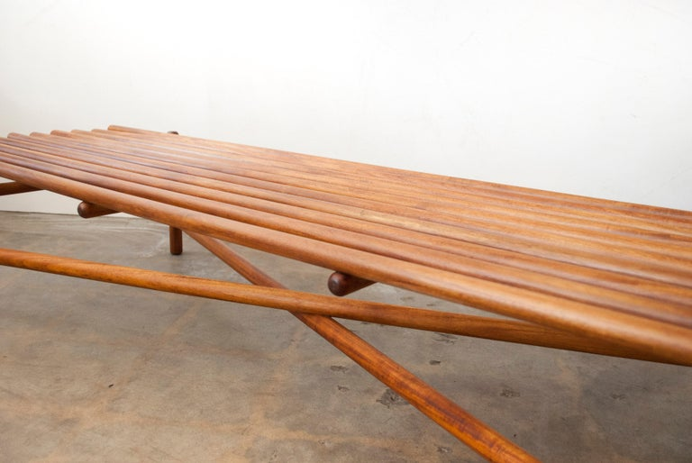 Extremely Rare Bertrand Goldberg Bench, 1952 For Sale 2