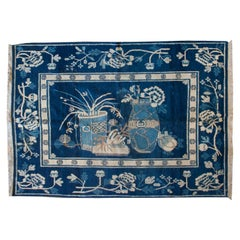 Extremely Rare Early 20th Century Pictorial Chinese Rug