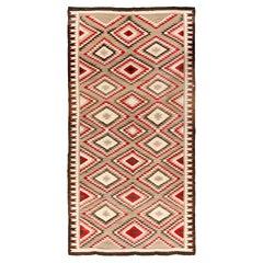 Extremely Rare Room Size Vintage Navajo Rug, circa 1930  8'3 x 15'5