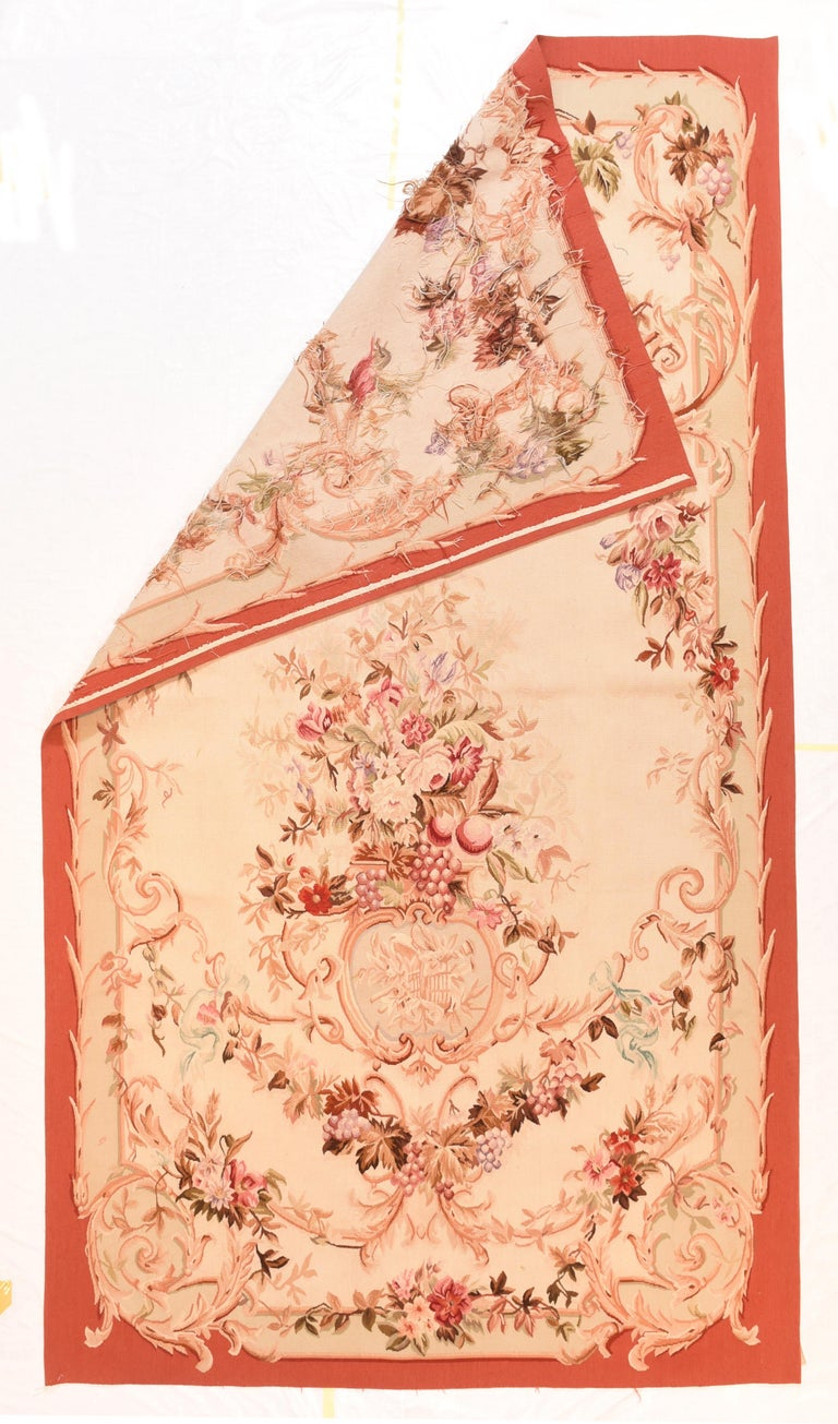 Extremly fine antique Aubusson French Tapestry, hand knotted, circa 19th c