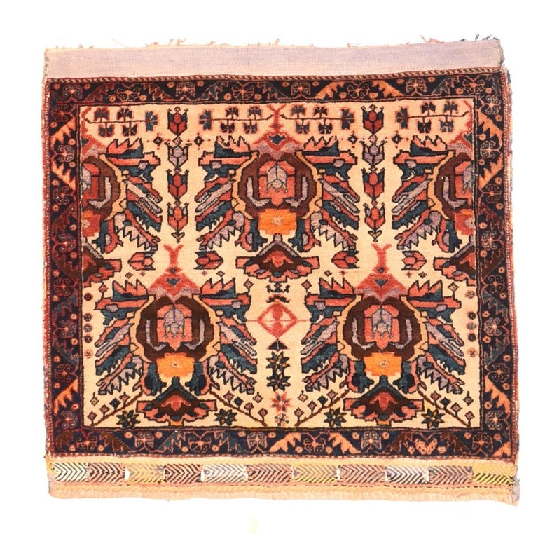 Other Extremly Fine Antique Persian Afshar Rug, Hand Knotted, circa 1890 For Sale