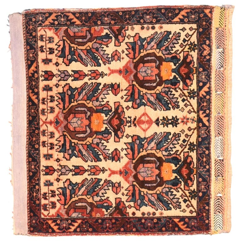 Extremly Fine Antique Persian Afshar Rug, Hand Knotted, circa 1890 For Sale