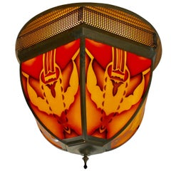 Eye-Catching Ceiling Lamp Designed and Manufactured in Amsterdam