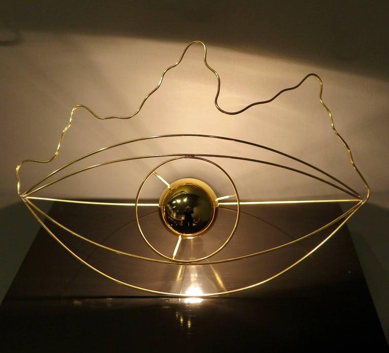 Modern Eye Table Lamps by Baltasar Portillo, 2018 For Sale
