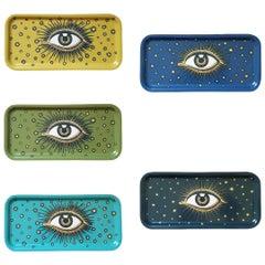 Eyes Serving Wood Trays Set of 5