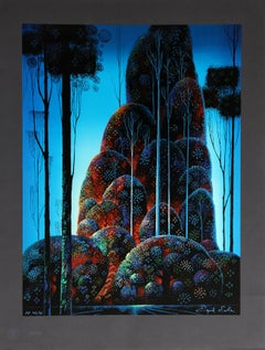 Tall Trees, Serigraph by Eyvind Earle