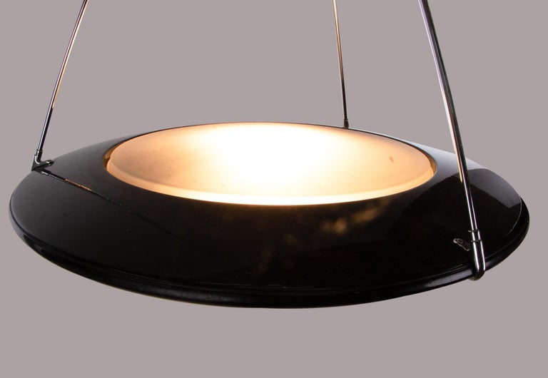 """Ezio Didone """"Mira S"""" UFO Pendant Light for Arteluce / Flos, Italy, 1990s In Good Condition For Sale In Niederdorfelden, Hessen"""