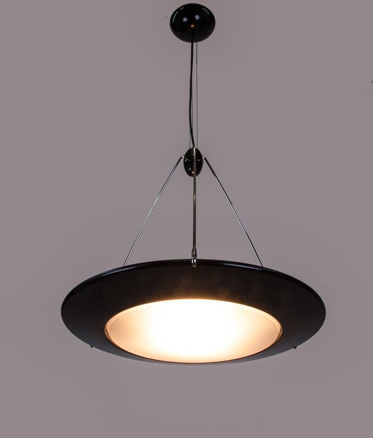 "Late 20th Century Ezio Didone ""Mira S"" UFO Pendant Light for Arteluce / Flos, Italy, 1990s For Sale"