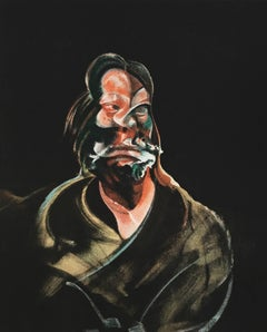 Francis Bacon lithograph Derriere Le Miroir (portrait of Isabel Rawsthorne)
