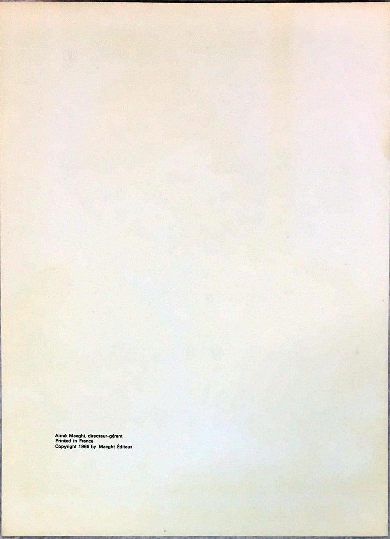 Francis Bacon Derrière le Miroir 1966 (cover) For Sale 1