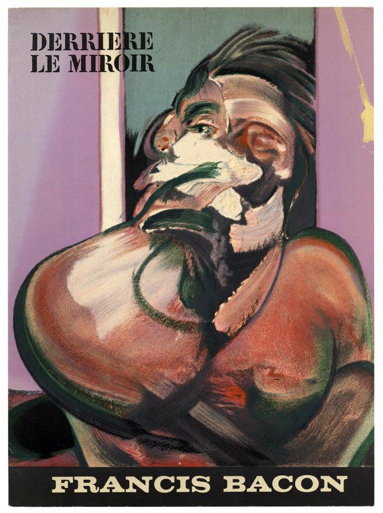 Francis Bacon Derrière le Miroir 1966 (cover) For Sale 2