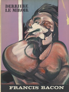 "Francis Bacon-Derriere le Miroir No. 162 Cover-15"" x 11""-Lithograph-1966-Brown"