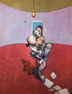 Francis Bacon lithograph Derriere Le Miroir (Portrait of George Dyer Talking)