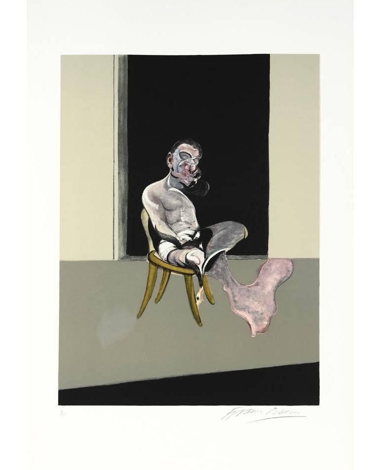 <i>Triptych August 1972</i> (right panel), 1989, by Francis Bacon, offered by Shapero Modern
