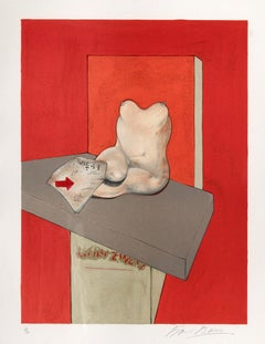 Study of a Human Body after Ingres - Francis Bacon, Expressionist, Post-War